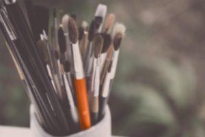 Schlag Druck & Werbegraphik Design Pinsel